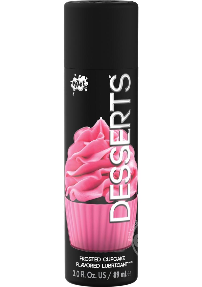 Desserts Flavored Lubricant Frosted Cupcake 3 Ounce