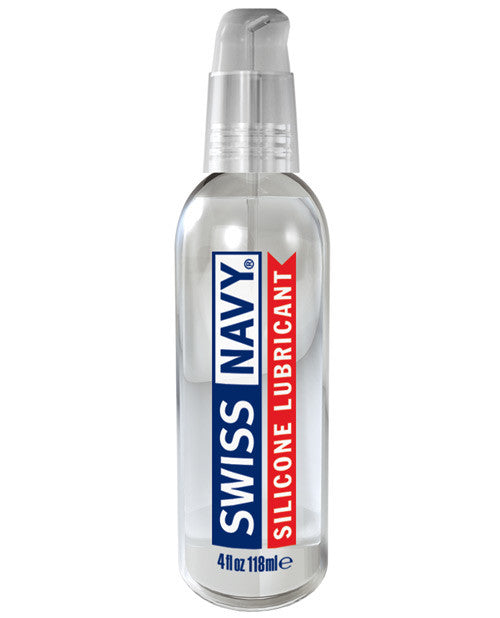 Swiss Navy Lube Silicone - 4 oz