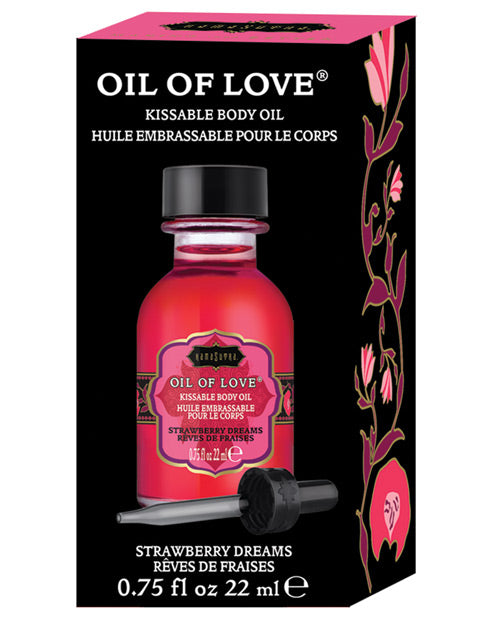 Kama Sutra Oil of Love - Strawberry Dreams