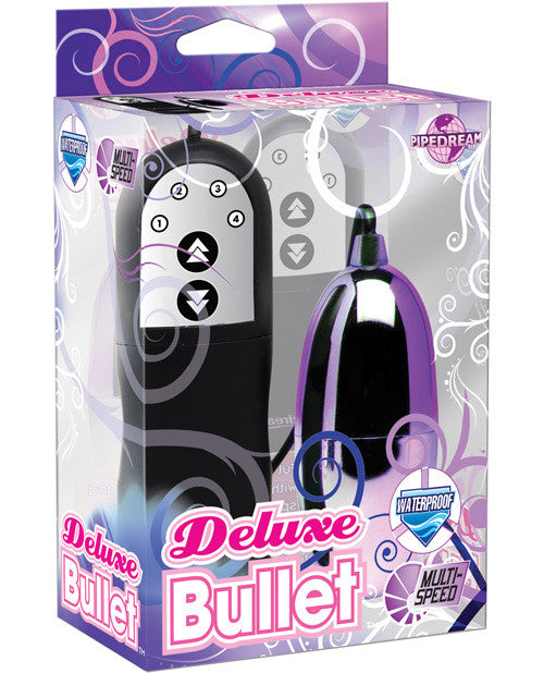 Deluxe Bullet Waterproof Vibe - Multi Speed
