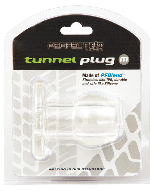 Perfect Fit Medium Tunnel Plug - Clear