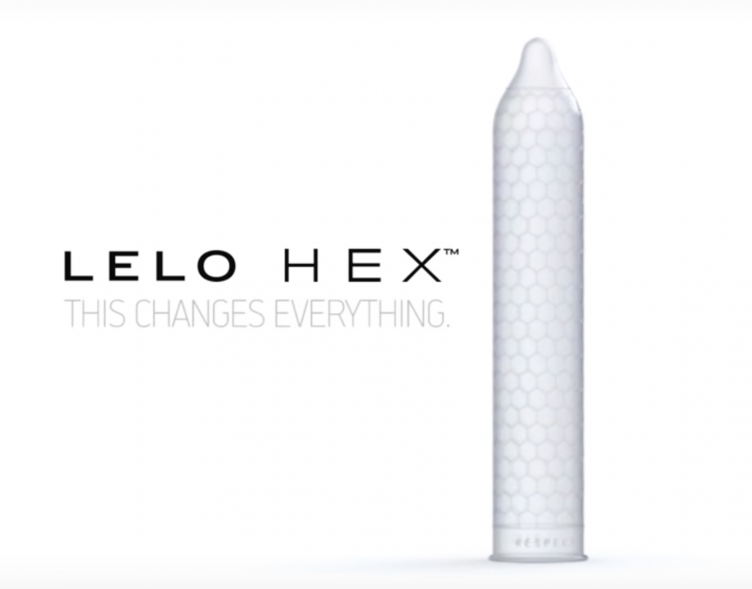 LELO HEX CONDOMS 12PK