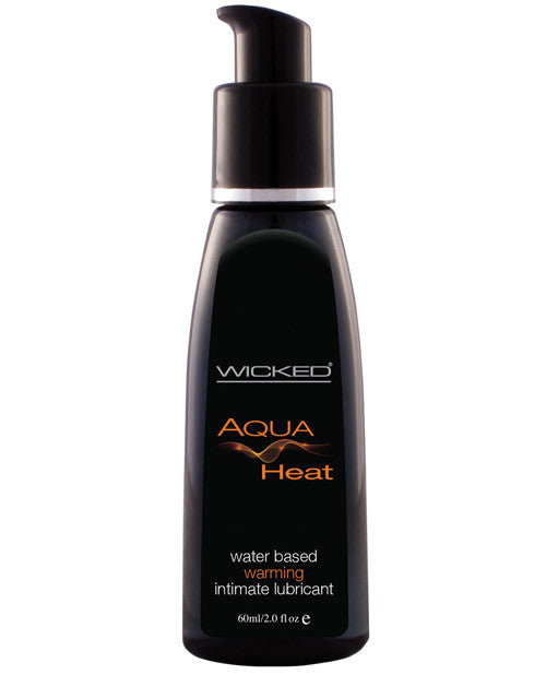 Wicked Sensual Care Collection Water Based Heat Warming Sensation Lubricant - 2 oz