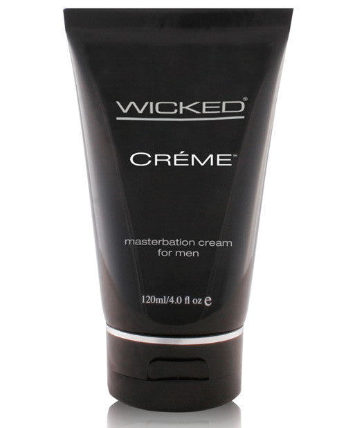 Wicked Sensual Care Collection Masturbation Cream for Men Silicone Based - 4 oz Creme to Liquid