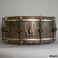 A&F Drum Company / Raw Brass Snare / 5 x 14