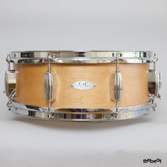 C&C / Player Date II Snare / 5.5 x 14 / Aged Maple Satin