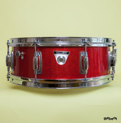 Ludwig / Standard snare / 5 x 14 / Red Mist (late '60s)