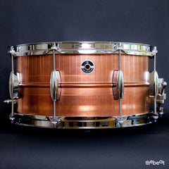 Q Drum Company / Gentlemen's Series / Copper 7 x 14 snare