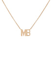 Personalized Two Initial Necklace