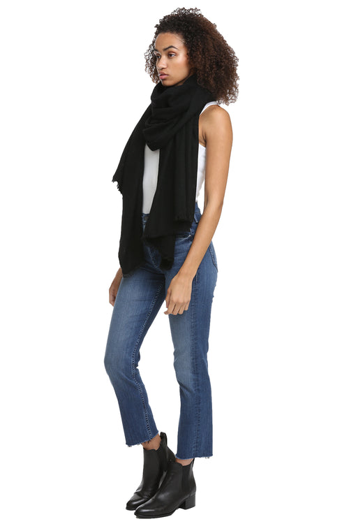 Nadine Scarf in Black