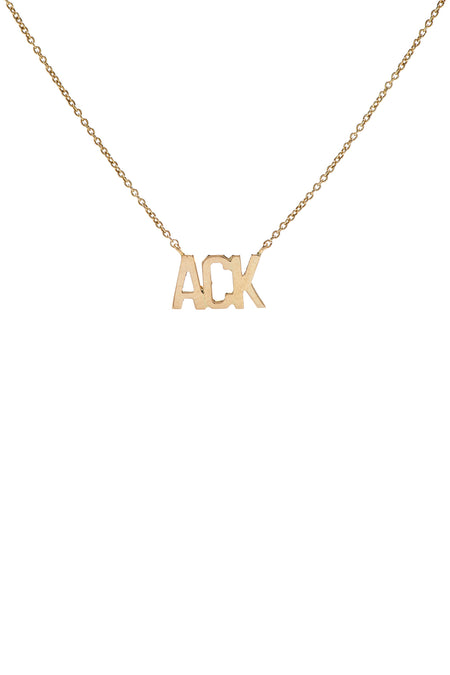 Personalized Script Necklace