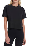Classic Jersey Short Sleeve Boy Tee in Black