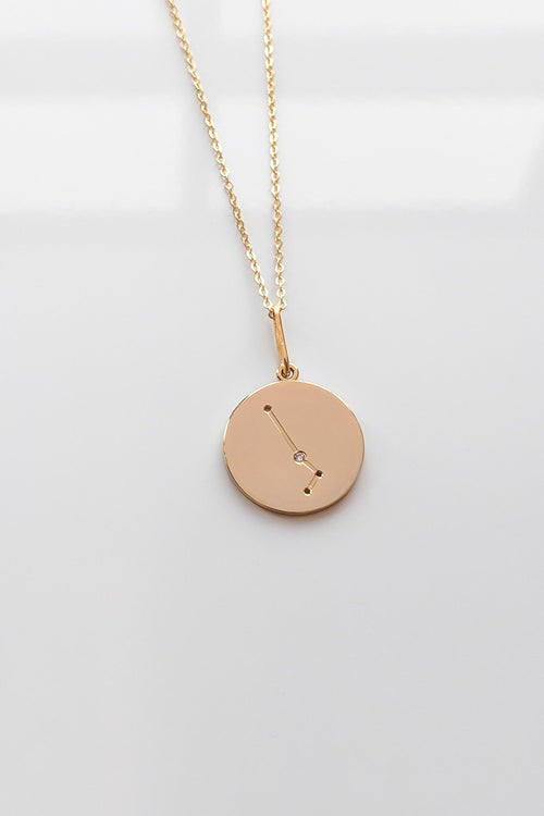 Constellation Charm Necklace - Aries