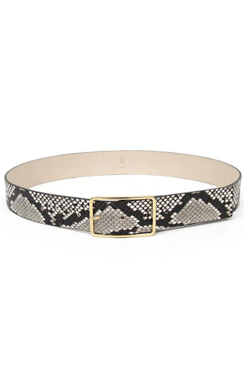 Milla Belt in Python Gold