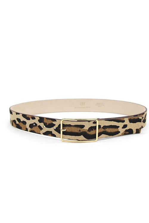 Milla Belt in Leopard Gold