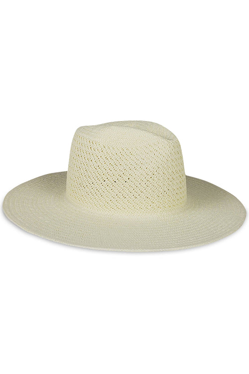 Vented Luxe Packable Hat in Natural