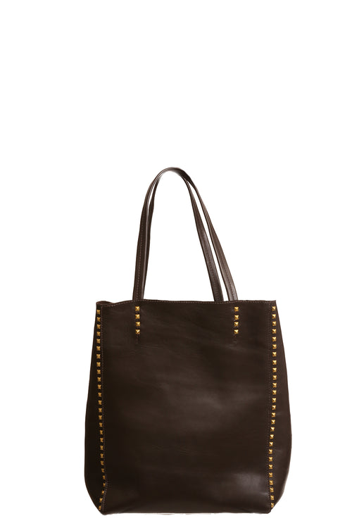 Dannie P Tote in Chocolate