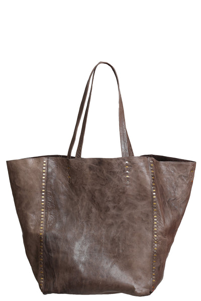Dannie Tote in Light Brown Montana