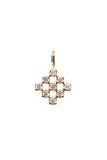 Aubrey 14K Diamond Shaped Charm