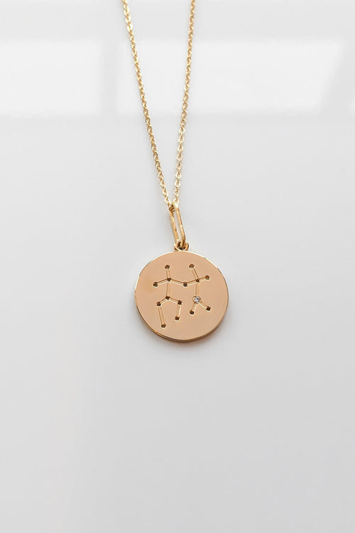 Constellation Charm Necklace - Gemini