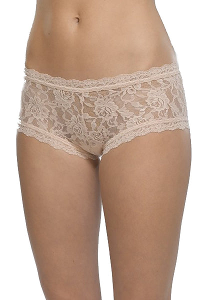 Signature Lace Boyshort in Chai
