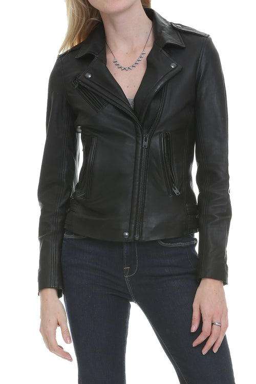 Han Leather Moto Jacket