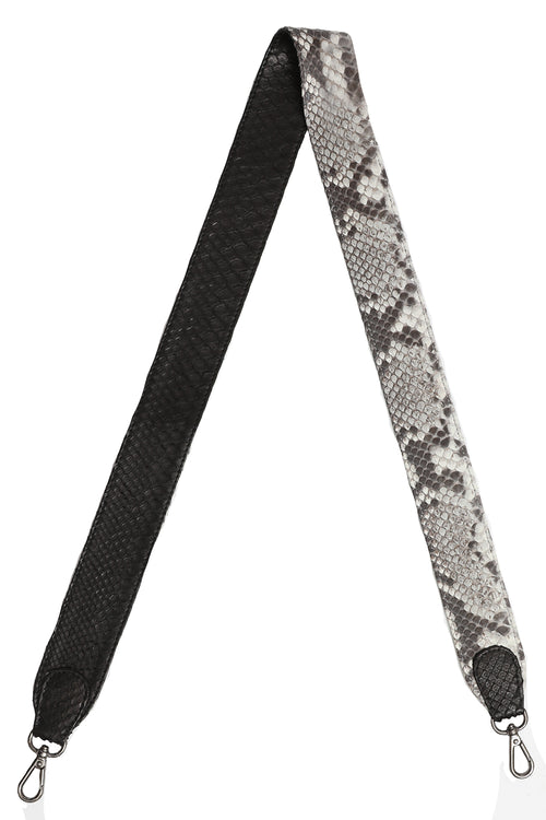 Asher Strap in Black and Natural
