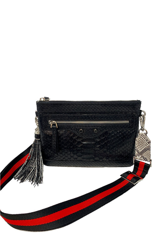Jo Crossbody Bag in Black