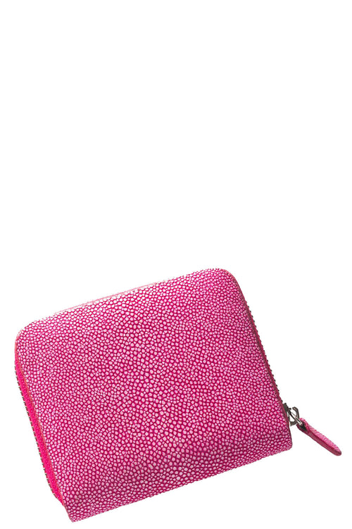 Sal Small Zip Wallet in Pink