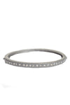 Matte Diamond Bangle