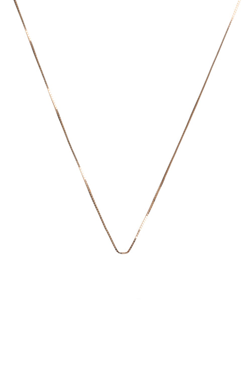 "14K Rose Gold 16"" Chain"