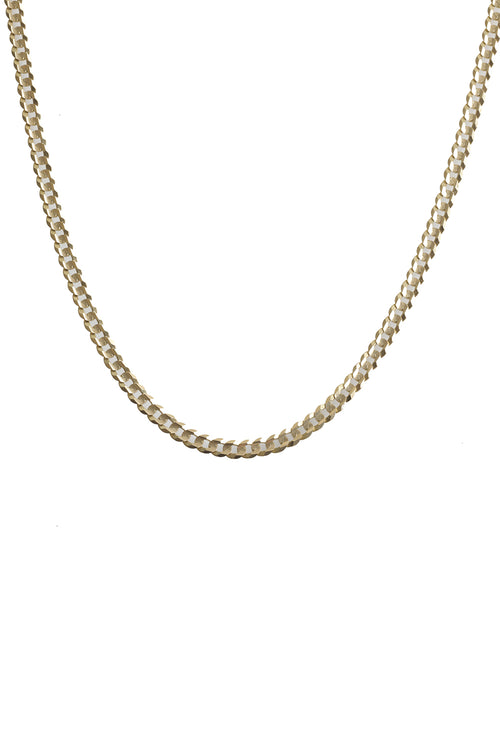 "14K Yellow Gold Cuban Link 16"" Chain"