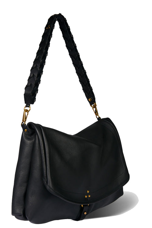 Andy M Bag in Noir Brass Calfskin