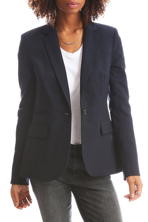 Classic Jacket in Navy