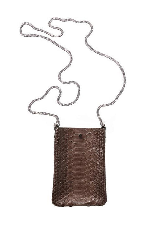 Ella Small Cross Body in Chocolate