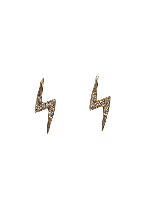 Pave Diamond Bolt Stud