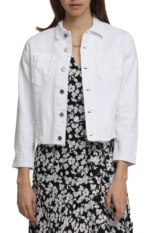 Janelle Jacket in Blanc
