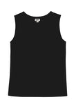 Shelly Tank Top in Black