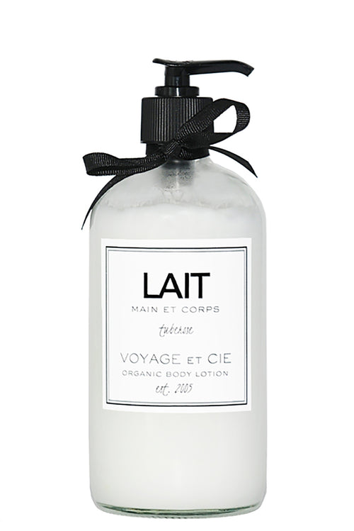 Lait Organic 16oz Body Lotion in Pikaki