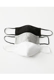 Lightweight Shaped Face Mask - 3 Pack
