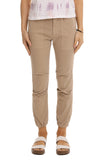 Cropped Military Pant in Desert Sand