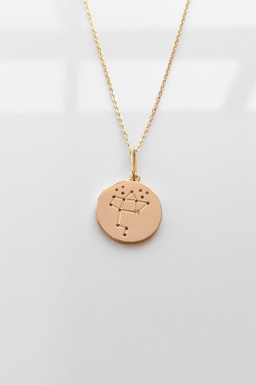 Constellation Charm Necklace - Sagittarius