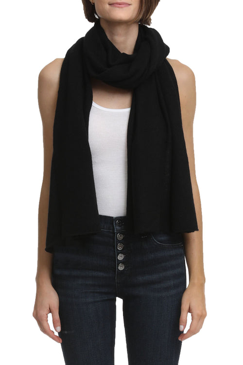 Featherweight Wrap in Black