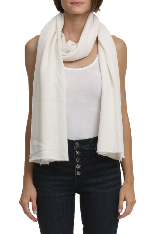Featherweight Wrap in Chalk