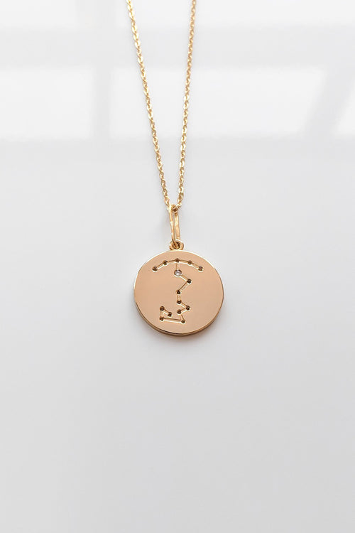 Constellation Charm Necklace - Scorpio