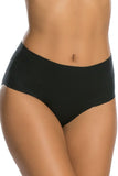 Undie-tectable Plain Cheeky in Black