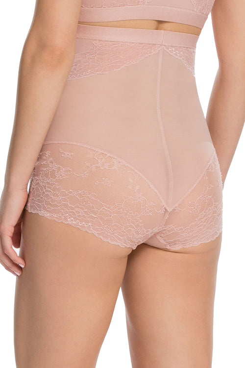 High Waisted Lace Brief