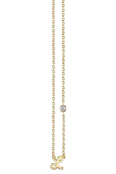 Oxidized Diamond Starburst Lariat