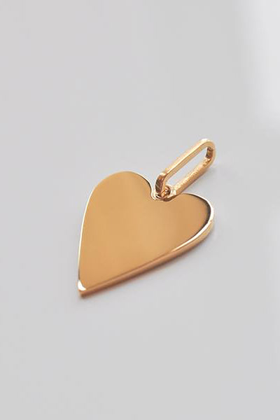 Amaya Heart Disc Charm