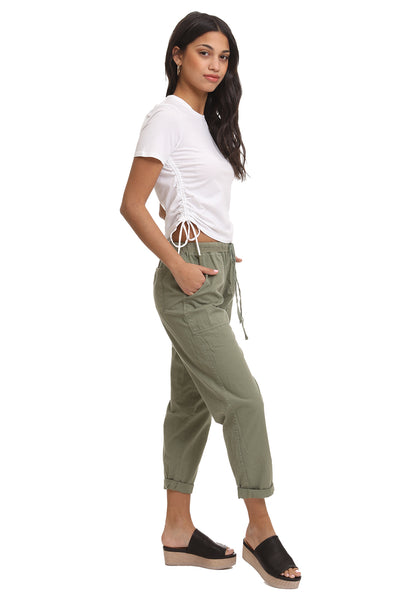 Kuvu Satin Wide Leg Pants